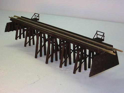 HO Model 122 Wood Trestle Bridge Kit