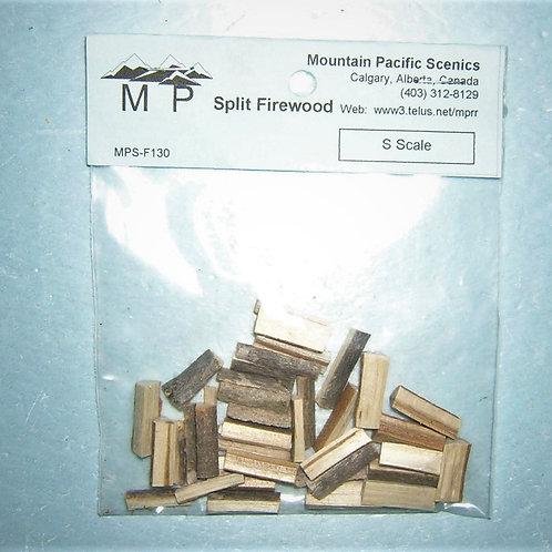 "Split Firewood S, 3/16"", (1:75mm) scale , model railroad, dioramas"