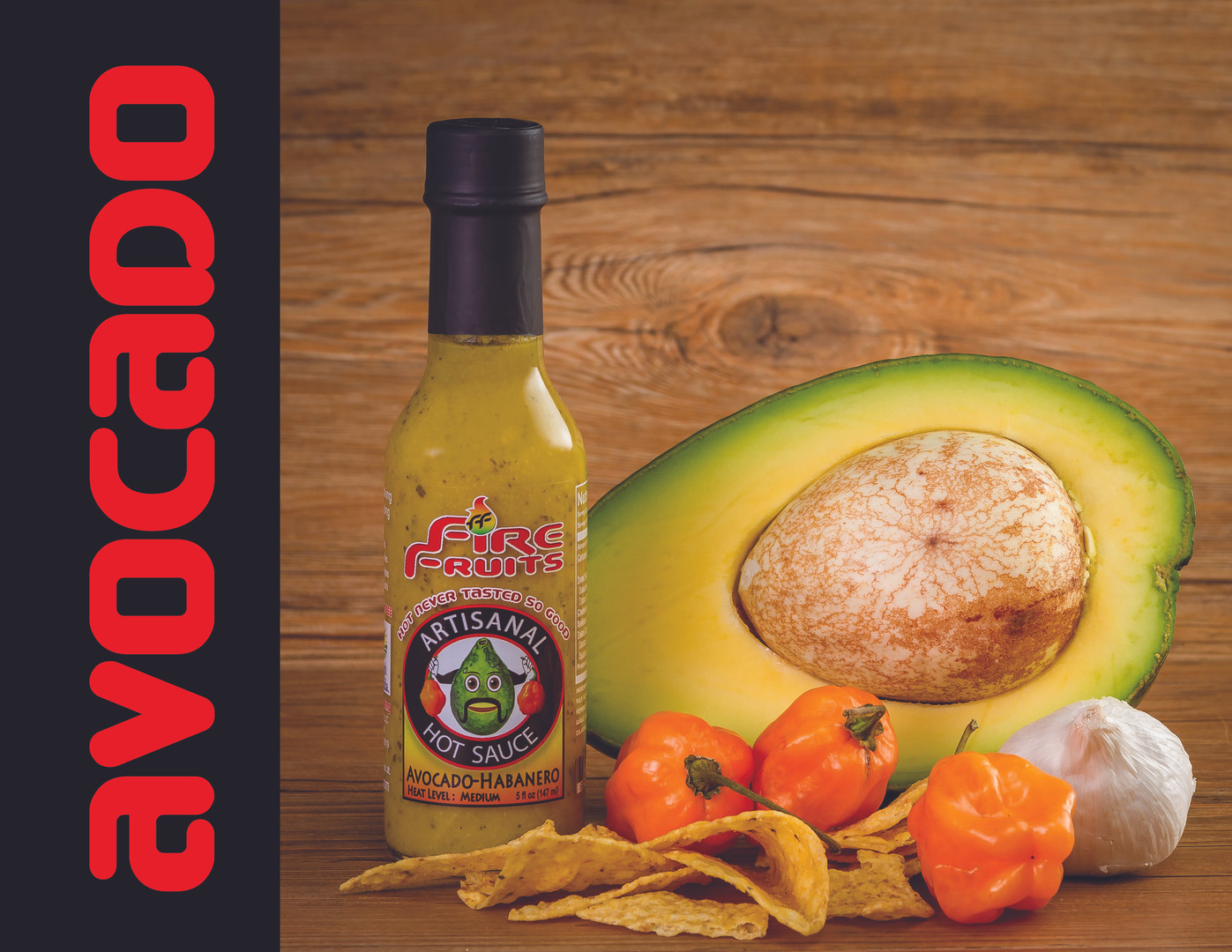 The flavor of the avocado pulp is similar to that of hazelnut and walnut. Native from Puebla, Mexico, this Mexican Inspired Artisanal Hot sauce made with creamy avocado, orange habaneros, blended with tasty cilantro, tomato, garlic and spices like culantro, oregano and others. This Artisanal Hot Sauce will infuse avocado flavor into your favorite appetizers, salads, sandwiches or any dish you would use avocado.
