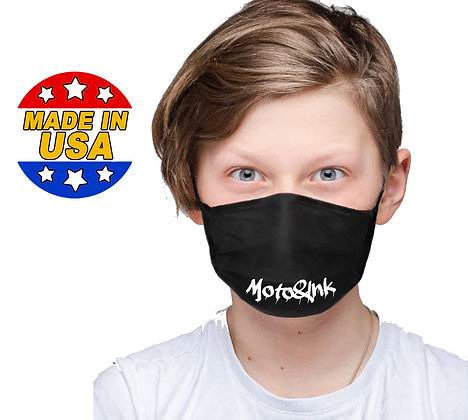 Youth Drip Logo Face Mask