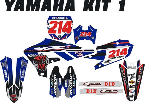 Yamaha Custom Bike Graphic Kits Standard