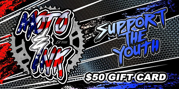 Moto&Ink Support The Youth $50 Gift Card!
