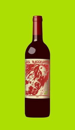 Projet d'étiquette de vin rouge)