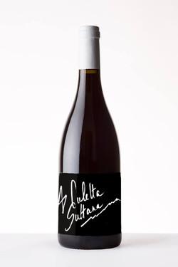 Etiquette pour vin corse (version noire)