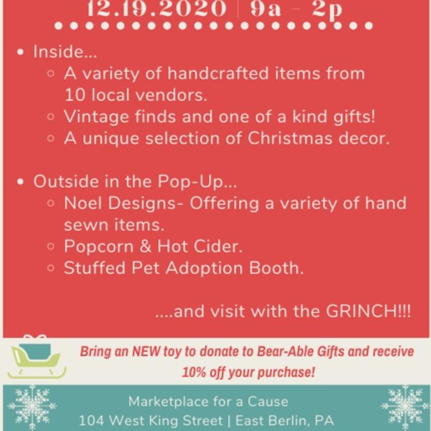 Christmas Open House & Sidewalk Sale