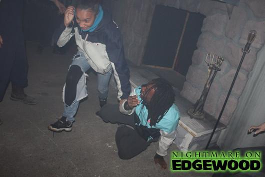 Nightmare on Edgewood Haunted House Reaction Photos