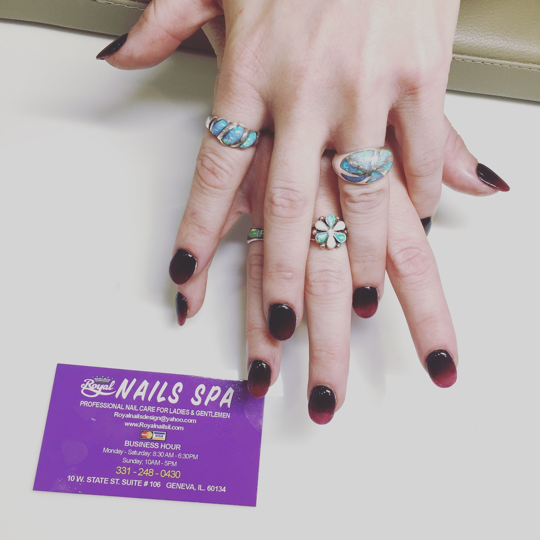 Dipping Powder on real nails