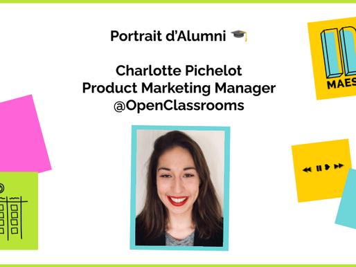 Charlotte Pichelot, de la Pub à Product Marketing Manager chez OpenClassrooms