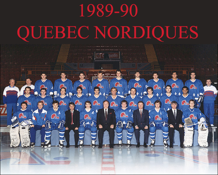 89-90 Quebec Nordiques