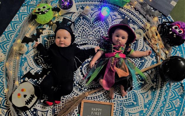 Happy 1st Halloween Little Olives