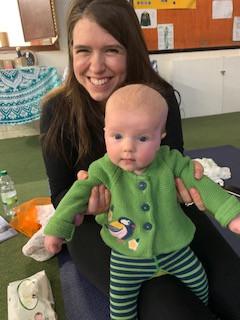 Baby massage fans