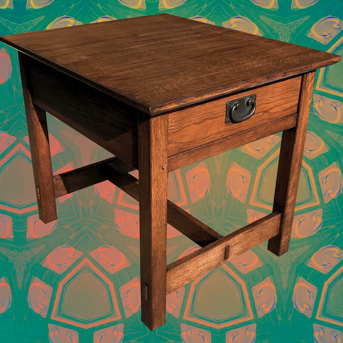 Mission Style Side Table