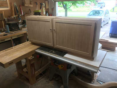Simple Wall Cabinets