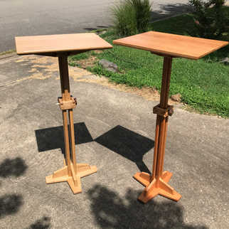 Adjustable-height Lecterns