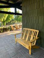 Greene & Greene Adirondack Bench & Chairs