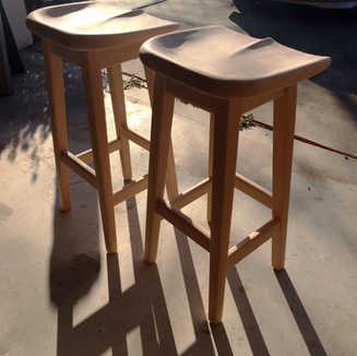 Sculpted Barstools