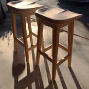 Sculpted Barstools