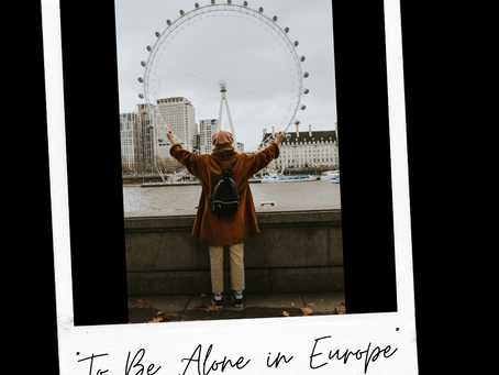 To Be Alone in Europe