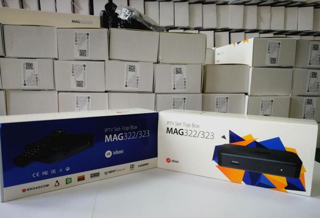 MAG 322 IPTV/OTT BOX