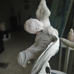 Femme corail (ange)