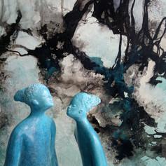 Femmes bleues des palétuviers