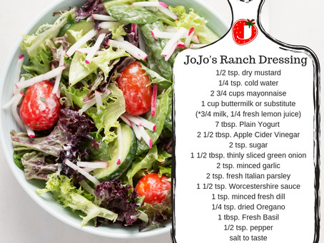 JoJo's Ranch Dressing