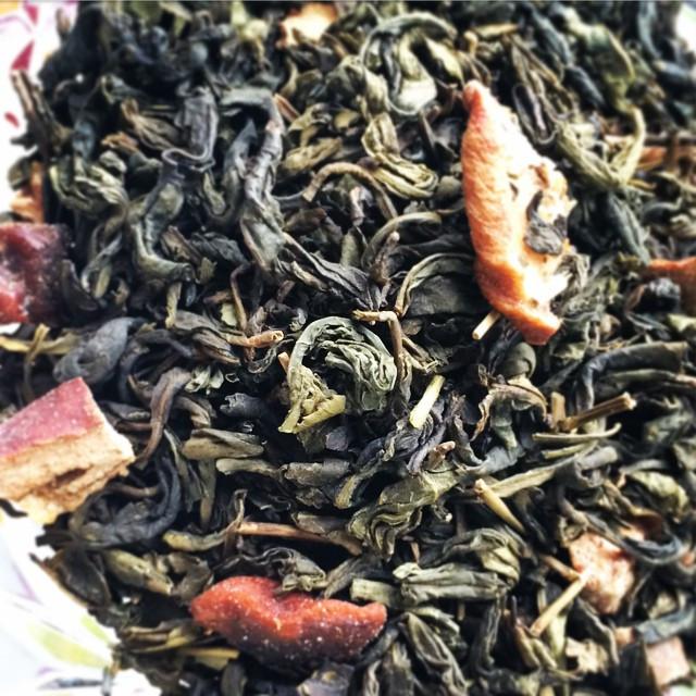 Organic Pear Perfect Loose Leaf Green Tea