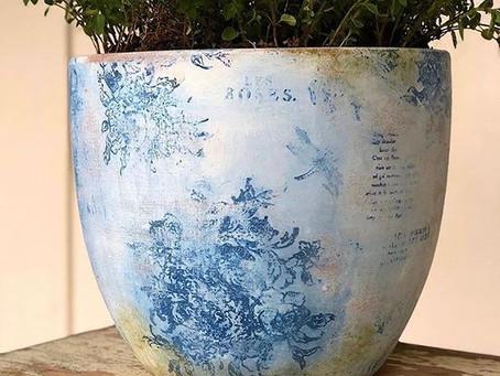 DIY Spring Pots