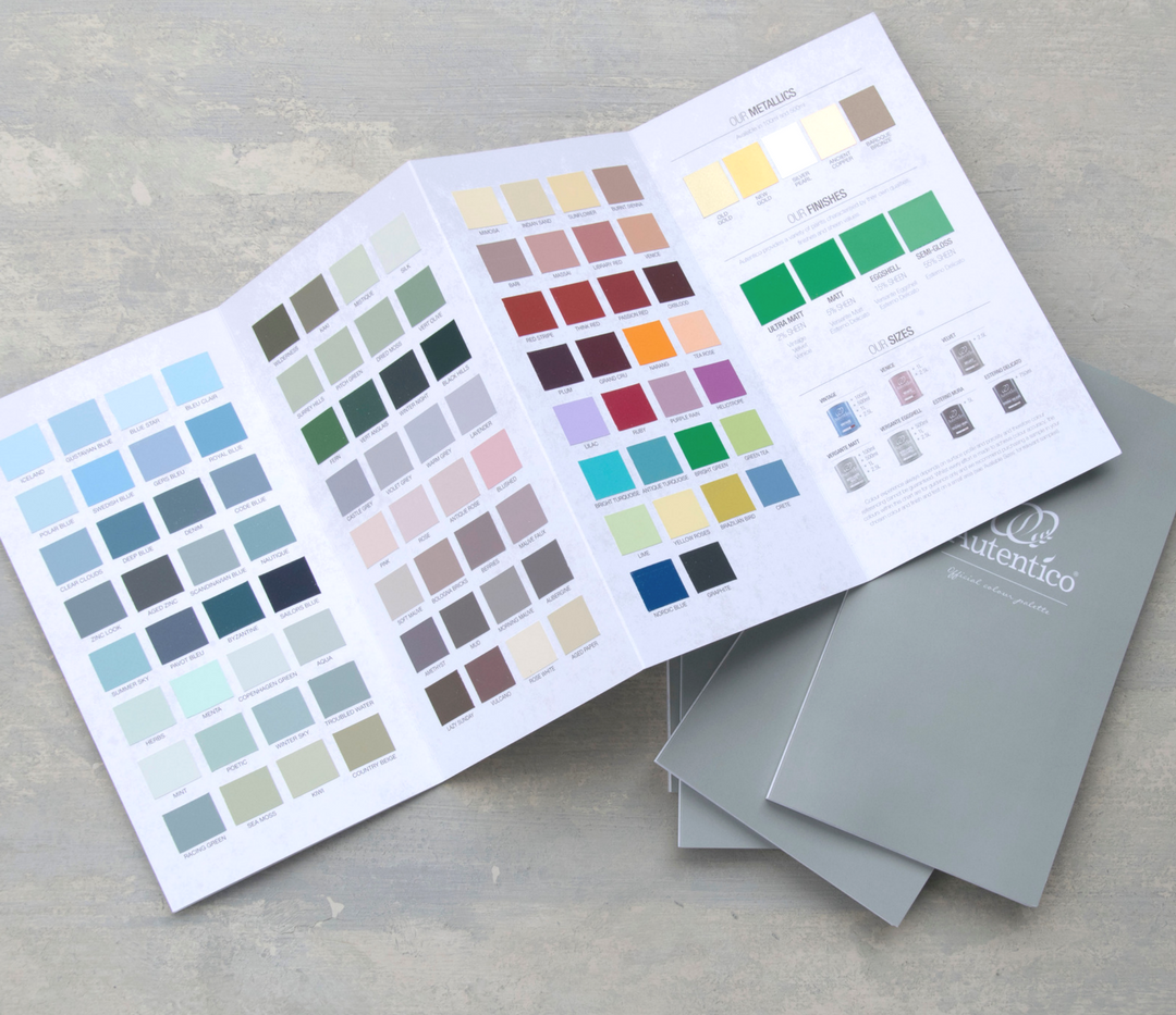 Autentico offers 150 color options