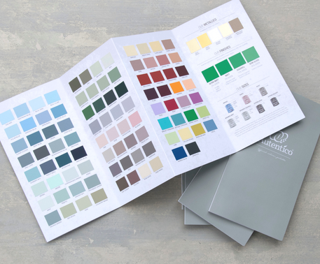 Autentico offers 150 color options