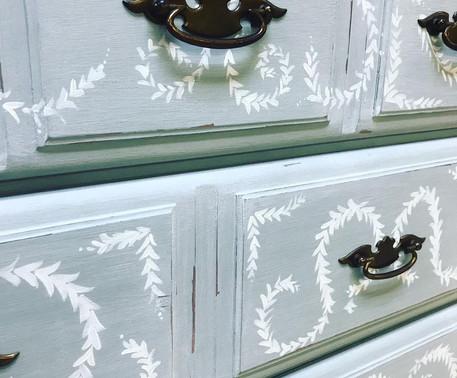Handpainted Furniture Pieces