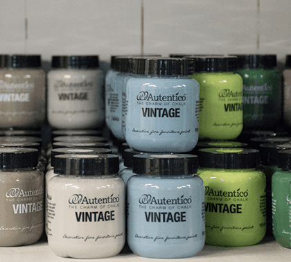 Autentico Paint comes in many size options