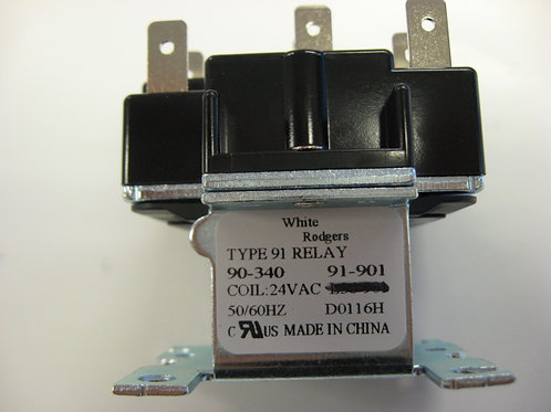 008090F Raypak Relay 24 VAC DPST