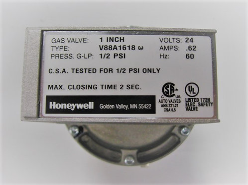 "004093F Raypak/Honeywell 1"" 24V Diaphragm Gas Valve On-Off"