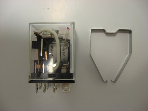 009688F Raypak Relay 24VAC DPDT w/ Lamp