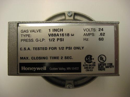 "V88A1618 Honeywell 1"" 24V Diaphragm Gas Valve On-Off"