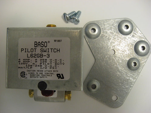 L62GB-3C BASO Pilot Switch Manual Reset SPST