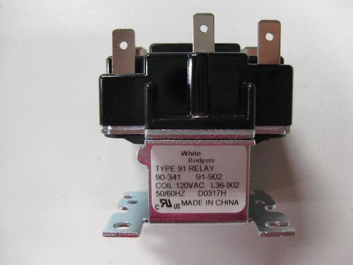 008145F  Control Relay 120 VAC SPDT-NO
