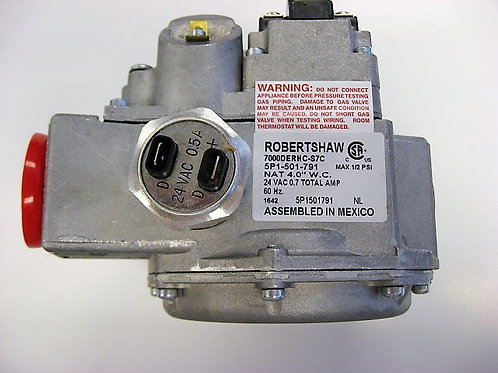 "004877F  Raypak 24V 1"" Comb Gas Valve"