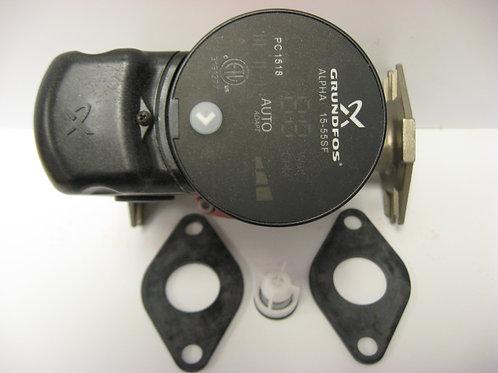 Alpha15-55SF Grunfos 1/16 HP SS  3-Speed Circulating Pump w/ Check Valve