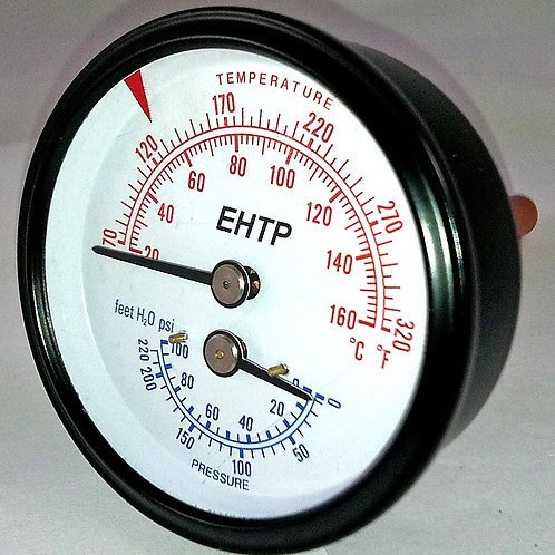 R0060600 Laars 0-100 PSI Tridicator