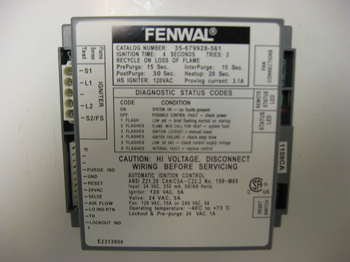 RE2313900 Laars / Fenwall Ignition Control