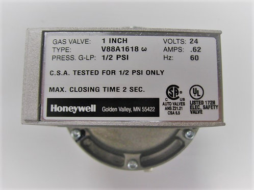 "V0046600 Laars/Honeywell 1"" 24V Diaphragm Gas Valve On-Off"