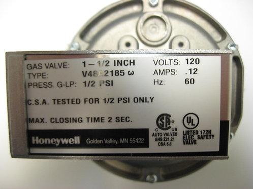 "11-0365 RBI 1-1/2"" 120V On-Off Gas Valve"