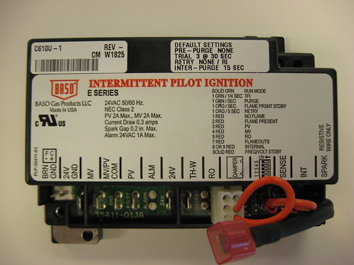 C610U 24VAC Intermittent Ignition Control