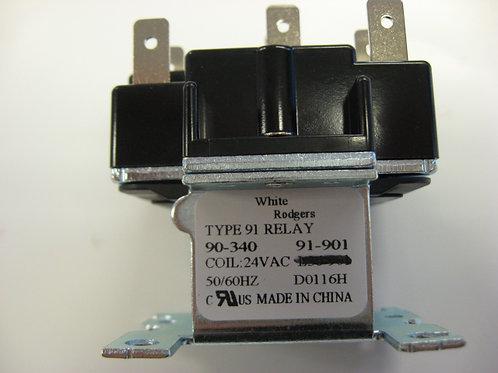 E0076600 Laars Relay 24 VAC DPST