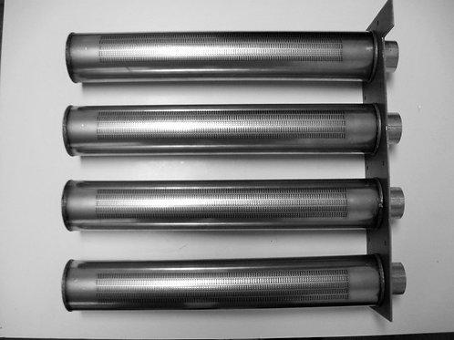 L2012500 Laars 4 Burner Tray w/ Gasket