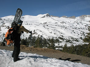 Sierra Nevada Splitboarding Tuolume Meadows