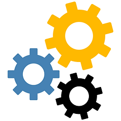 Micro Force webinar 3 gears icon