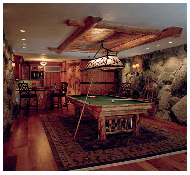 Mountain Hideaway Billiards
